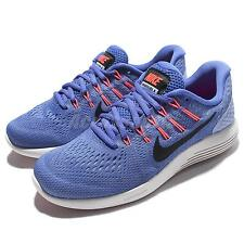 Wmns Nike Lunarglide 8 VIII Blue Black Women Running Shoes Sneakers 843726-406
