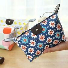 Women Pencil Case Travel Bag Purse Cosmetic Makeup Handbag Storage Pouch
