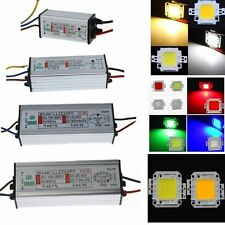 10W 20W 30W 50W DC Waterproof High Power Supply Driver Adapter&LED Chip Light C1