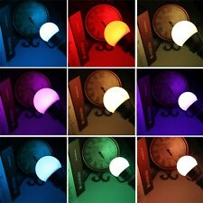 3W/5W/10W E27/E14 RGB LED Light Color Changing Lamp Bulb + Remote Control O4