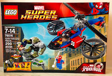 LEGO MARVEL SUPER HEROES 76016~SPIDER HELICOPTER RESCUE~GREEN GOBLIN~MJ~ NEW