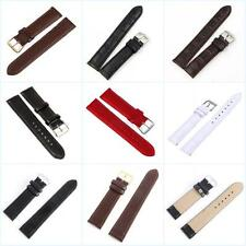 Replacement Wristwatch Band Leather Steel Buckle Wrist Watch Strap Band Belt 1pc