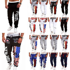 Men Sports Jogging Training Sweat Pants Tracksuit Bottoms Jogger Track Trousers