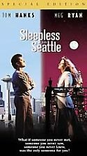 SLEEPLESS IN SEATTLE Vintage Used VHS Collectible Chrismas Stories Holiday TV