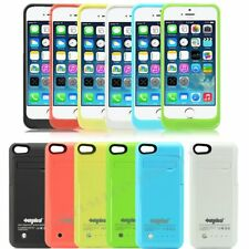 2600mAh For iPhone 5/5S External Battery Backup Charging Bank Power Case Cover