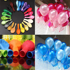 "50PCS 12""Latex Helium Ballons Xmas Wedding Birthday Party Decoration Wholesale"