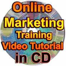 Online Marketing Training Video Tutorial Course eCourse Become HowTo Marketer CD