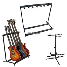 Hold 3/5/7 Multiple Bass Guitar Folding Stand Stage Display Rack Holder US STOCK