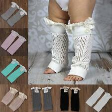 Infant Baby Girl Boys Toddler Leggings Socks Kids Legs Warmer Knee Pad Leg Boot