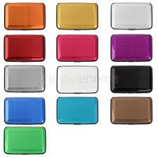 Aluminum Credit Card Holder Business ID Credit Metal Pocket Case Box Waterproof