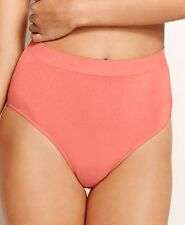 WACOAL B-SMOOTH BRIEF SEAMLESS HIGH WAIST KNICKER SALMON PINK 838175 SIZE S NEW