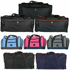 Travel Holdall Luggage Duffle Bag Heavy Duty Zip Wheelie Carry Holiday Suitcase