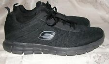 Mens Black Skechers Skech-Knit Athletic / Sneakers / Tennis Shoes Size 11