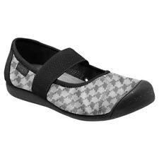 KEEN Women's Sienna MJ Canvas Comfort Mary Jane Shoes Houndstooth Size 10