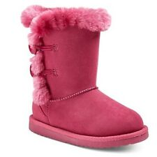 CHEROKEE DANNIE GIRLS SHOES / PINK SHEARLING FLEECE BOOTS / TODDLER NEW W TAG!