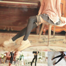 Black Sexy Women Girl Temptation Pantyhose Stockings Sheer Mock Suspender Tights