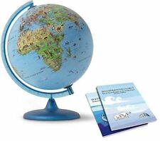 Nova Rico Symbole Illuminated Children's Globe Supplied with Illustrated Informa