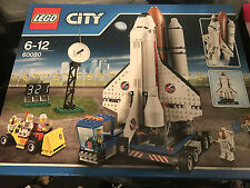 NEW & Sealed LEGO CITY 60080 SPACE PORT Launch Pad incl 5 Figures (Dented box)