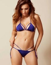 Agent Provocateur 'Fiorella' Navy Bikini Set - Top and Bottom - in size 2 or 4