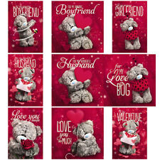 Valentines Me to You Bear 3D Holographic Cards