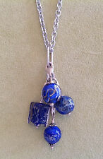Lela Belle Dangle 2 Link Necklace for Lela Belle Murano Beads sold w/out beads