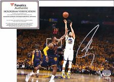 STEPHEN CURRY GOLDEN STATE WARRIORS AUTOGRAPHED SIGNED 8X10 PHOTO W/FANATICS COA