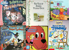 LEARNING TO READ BOOKS,RUGRAT,JIMMY NEUTRON,BEATRICE POTTER,CLIFFORD,WINNIE POOH