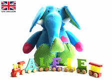 Brand New Wooden Alphabet Name Train Letters Personalised Names Christening Gift