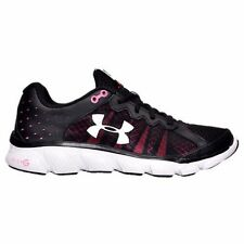 Women's Under Armour Micro G Assert 6 Running Shoes Black Many Sizes #W159