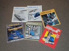 Conrail Inside Track train trains 1987 Consolidated Rail Corporation