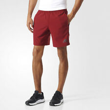 Adidas Speed WV Mens Red Climacool Training Running Shorts Pants Bottoms