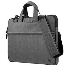 Plemo Waterproof Laptop Sleeve, Shoulder Briefcase with Portable Handle for