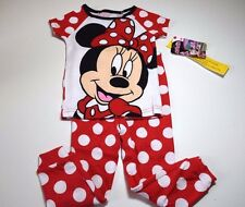 New Disney Minnie Mouse toddler girls pajamas 2T 3T 4T 5T