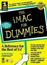 The iMac For Dummies By DAVID