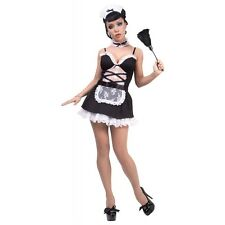 French Maid Costume Adult Sexy Outfit Halloween Fancy Dress