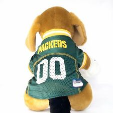Green Bay Packers Dog Jersey NFL Football Officially Licensed Pet Product
