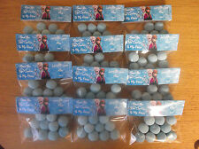 PERSONALISED FROZEN ANNA & ELSA PARTY BAGS EMPTY OR PRE-FILLED BON BONS