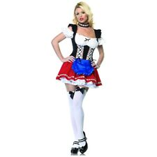 German Beer Girl Costume Adult Sexy Frauline Oktoberfest Halloween Fancy Dress