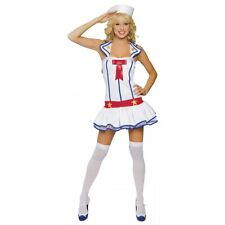 Sailor Costume Adult Pin Up Girl 40s 50s Sexy Halloween Fancy Dress