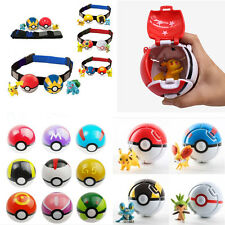 Pokemon Pokeball Pop-up 7cm Cartoon Plastic BALL Lovely Pikachu Toy Kids Gift