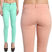 TheMogan Soft Denim Stretchy 5 Pockets Low Rise Ankle Skinny Jeans Jeggings