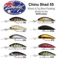 Lucky Craft Chi Nu Shad 55 Bream Bass Flathead Mangrove Jack Made in Japan