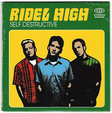 Ridel High - Self Destructive [1998 A&M Promo CD Single] Rare, OOP Emo, Weezer