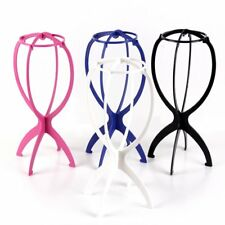 New Folding Plastic Stable Durable Wig Hair Hat Cap Holder Stand Display Tool F6