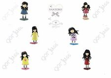 Gorjuss 6 ASSORTED Mini Figures Cake Toppers Toy Figure by Comansi Official New