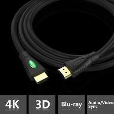 Braided HDMI Cable v2.0 High Speed + Ethernet HDTV 2160p 4K 3D for TVS PS4 Xbox