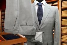 Man suit tailoring Bagariny 2 buttons wool Prince of Wales gray