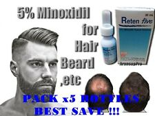 HAIR LOSS EYEBROW REGROWTH TREATMENT GENERIC MINOXIDIL MEN SERUM GROW BEARD