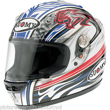 """SUOMY VANDAL """"MAX BIAGGI"""" #3 ROAD RACE HELMET SIZE XL EXTRA LARGE RRP $800 SALE"""