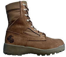 McRae USGI USMC Marine Hot Weather Boots Vents MADE IN USA Breathable Boots NEW